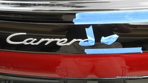 porsche carrera 4s emblem replacement