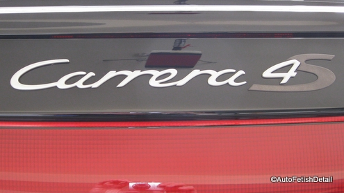 porsche carrera emblem replacement