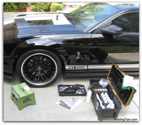 professional car paint chip repair kit