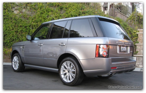 range rover autobiography car detail