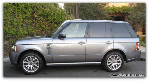 range rover autobiography detail