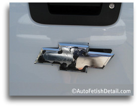 Remove Chevy Bowtie Emblem That Will Add A Cleaner Look To Your - Chevy silverado bowtie decal