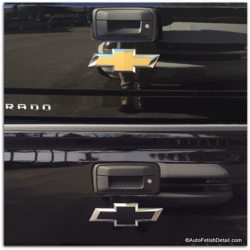 Customize Chevy Silverado Remove Chevy bowtie emblem that will add a cleaner look to ...