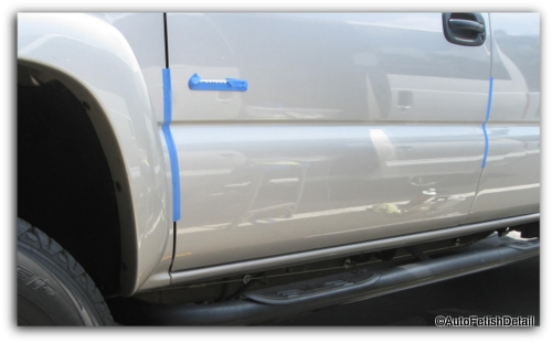 remove truck side door rails