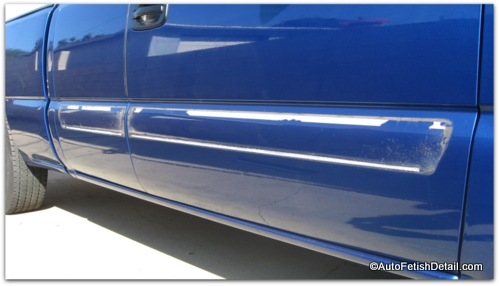 removing side molding from chevy truck