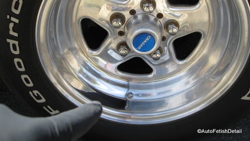 rv wheel polishing