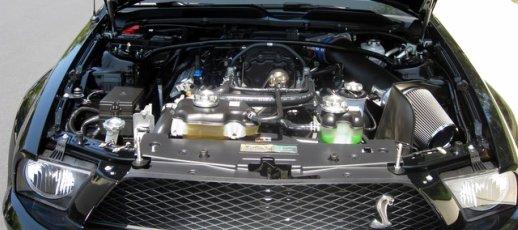 2007 Shelby Cobra GT500 engine