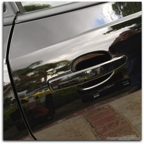 Turtle Wax scratch repair kit after car paint scratch repair