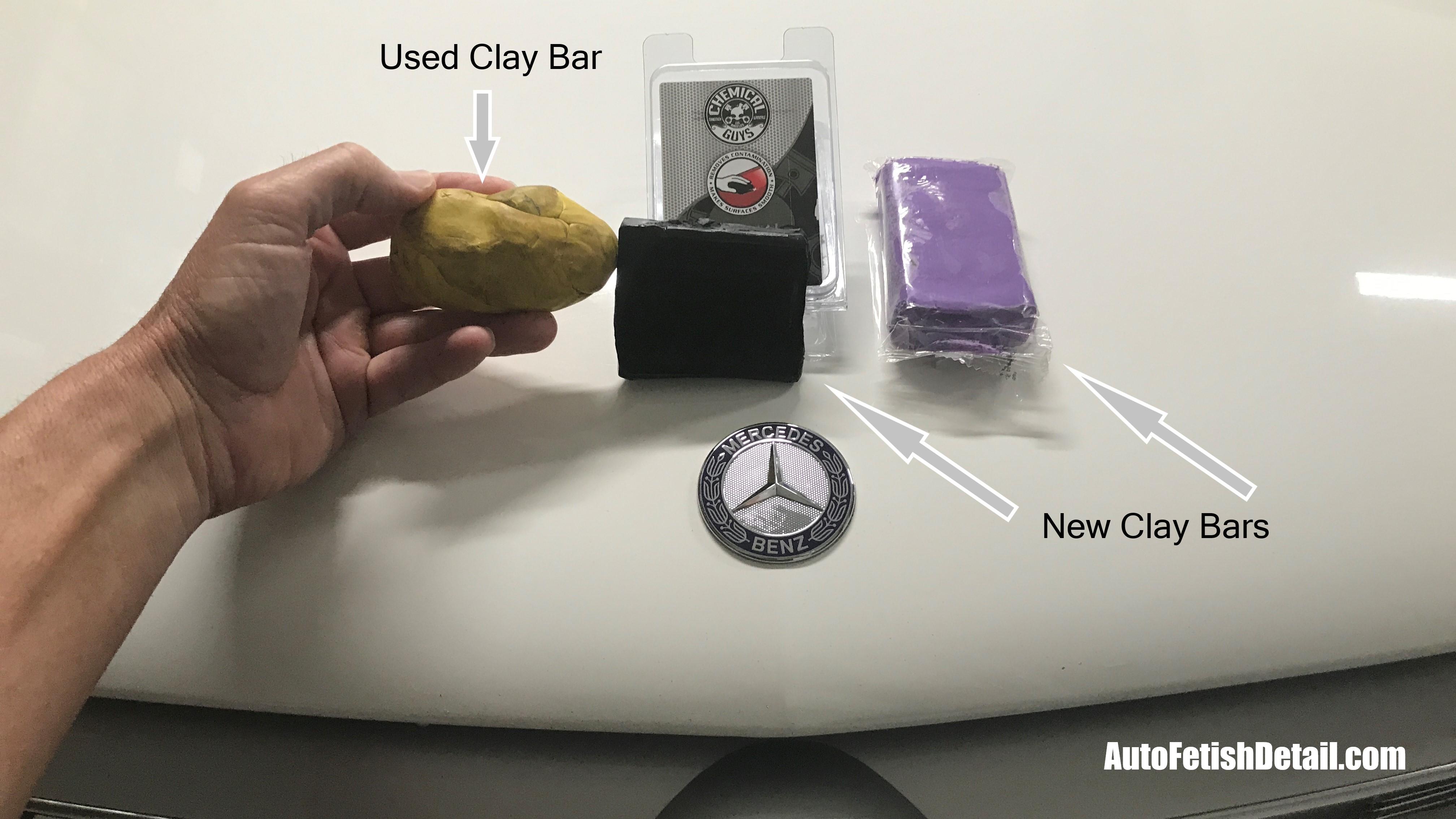 what is clay bar for car