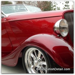 34 ford roadster detail