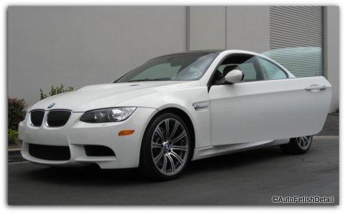 BMW M3 car detail