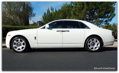 Rolls Royce Ghost auto detail