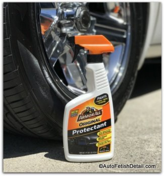 Armor all original protectant on tire