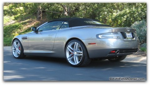 aston martin db9 detail orange county