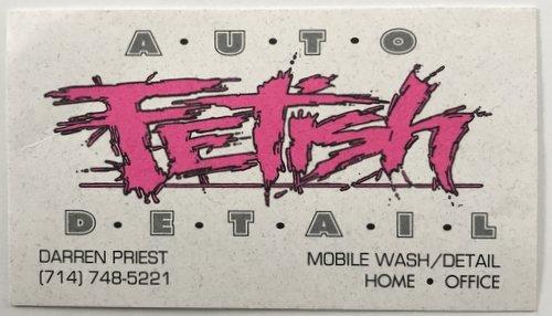 auto fetish logo 1995