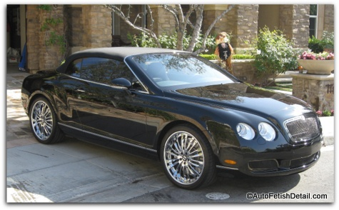 bentley car detatiling of orange county