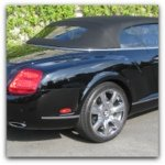 bentley gtc convertible auto detailing pictures