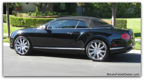 bentley gtc detailing