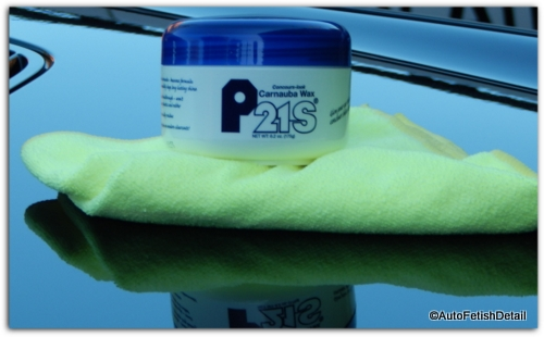 best rated car wax p21s