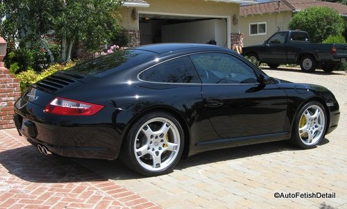 Best wax for a black car on this Porsche carrera
