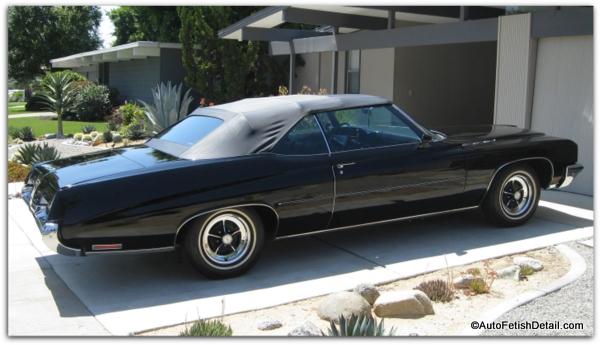 black classic car care
