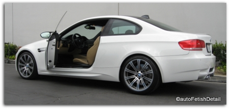 car detailing specialty services bmw m3