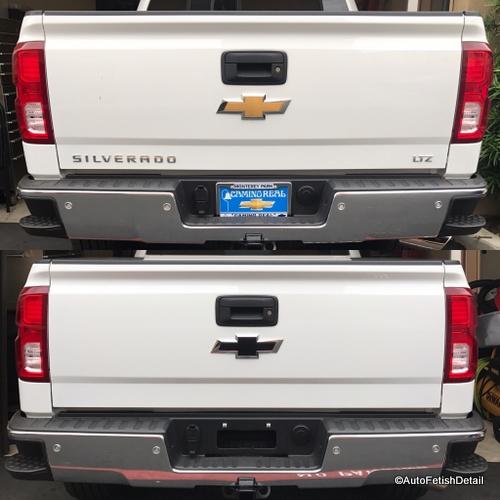 car emblem removal of orange county ca 714 624 0804. Black Bedroom Furniture Sets. Home Design Ideas