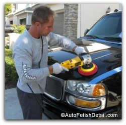 car paint polishing orange county