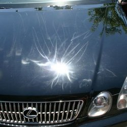 car paint swirl marks