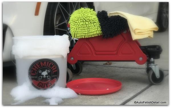 chemical guys car washing kit