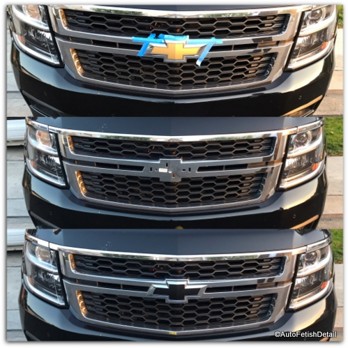 Chevy bowtie replacement