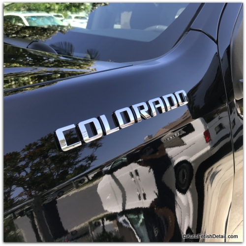 chevy colorado truck debadge and replace