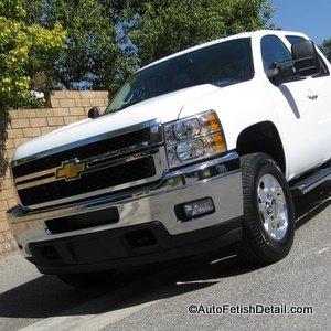 chevy silverado 2500 truck detail