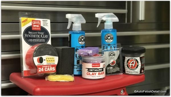 clay bar car before nu finish car polish