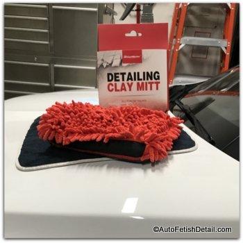 clay mitt to clay bar car