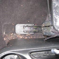 clean vomit from car