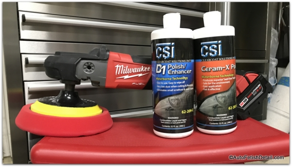 Clearcoat Solutions car polishes