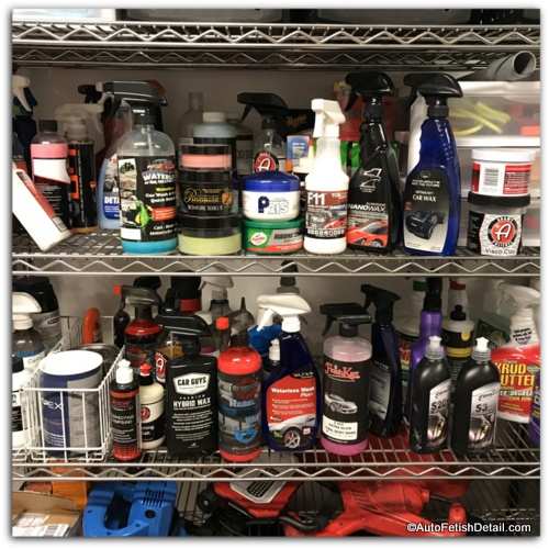 cosmetic car care products