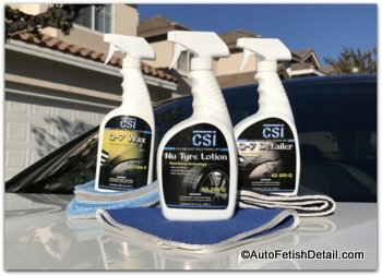 csi products for car wax ratings