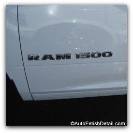 debadging ram 1500 emblem