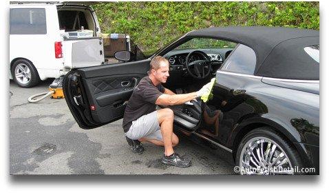 detailing cars