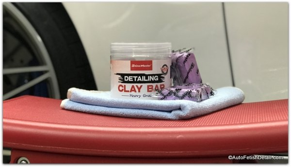 detailing clay for classic car care