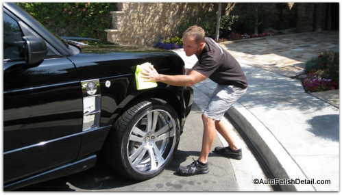 detailing cleaning