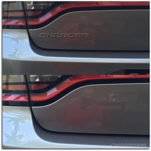 dodge charger car emblem removal