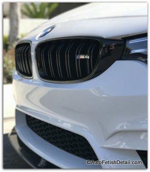 expert mobile car detailing BMW m4