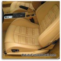ferrari car leather interior