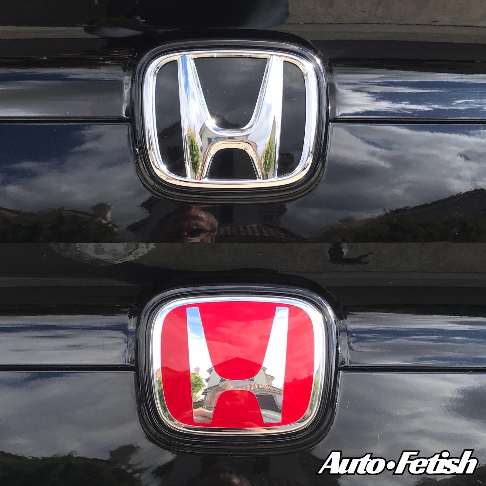 honda civic type r badge replacement