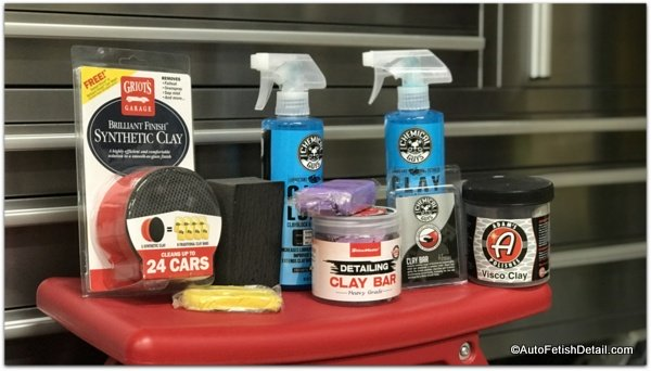 meguiars clay bar alternatives