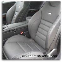 mercedes car leather interiors