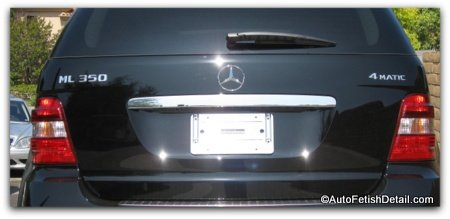 mercedes removing car emblems